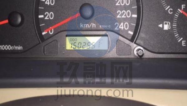 2007丰田花冠仪表盘