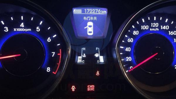 13款朗动仪表盘指示灯图解