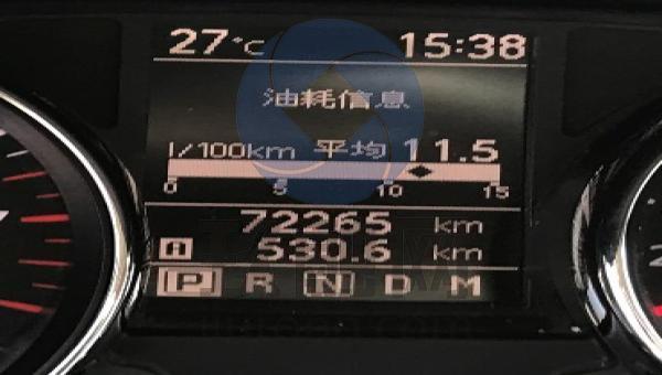 2010款逍客仪表盘图解
